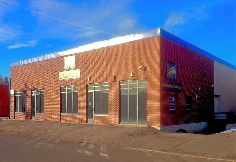Photo of industrial/flex building for sublease at 2494 W 2nd Ave in Denver, CO.